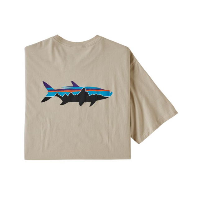 Men's Fitz Roy Fish Organic T-Shirt