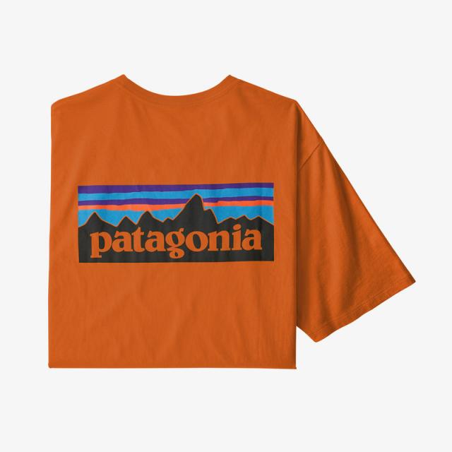 Patagonia - Men's P-6 Logo Organic T-Shirt in Sioux Falls SD