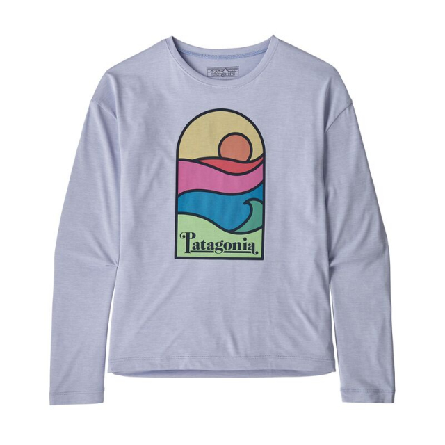 Girls' Long-Sleeve Cap Cool Daily T-Shirt