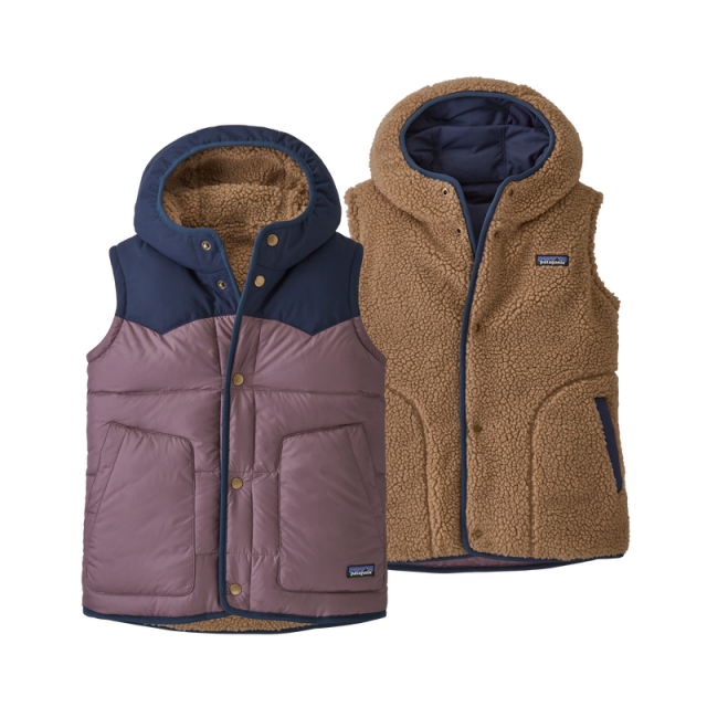 Patagonia - Girls' Reversible Bivy Hoody Vest in Sioux Falls SD