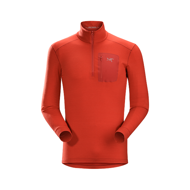 Arc'teryx - Satoro AR Zip Neck LS Men's in Ashburn Va
