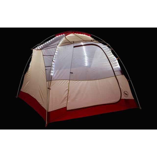 Big Agnes - Chimney Creek 4 Person mtnGLO Tent