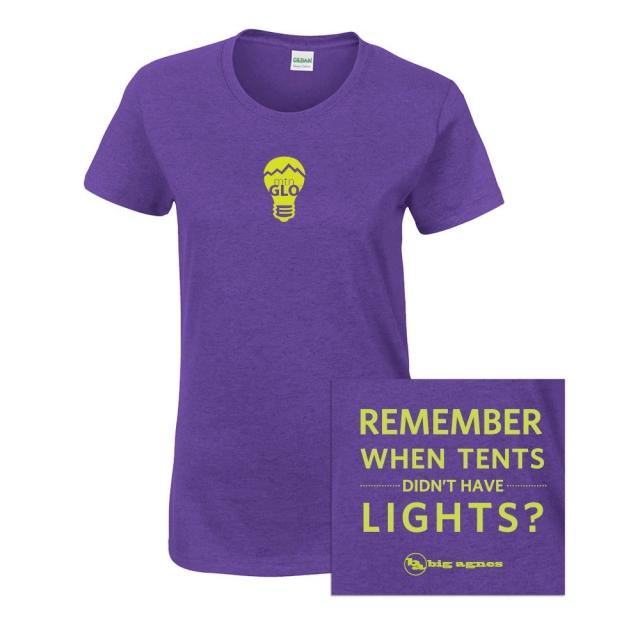 Big Agnes - T-shirt: Women's mtnGLO