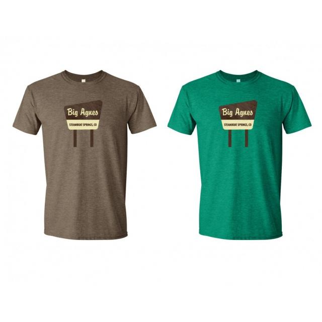 Big Agnes - T-shirt: Signage
