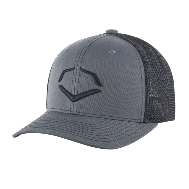info for 6cb84 a935e ... official evoshield speed stripe mesh flex fit hat charcoal black 8393e  d73f6