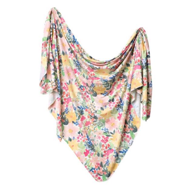 Copper Pearl - Lark Knit Swaddle Blanket in Victoria Bc