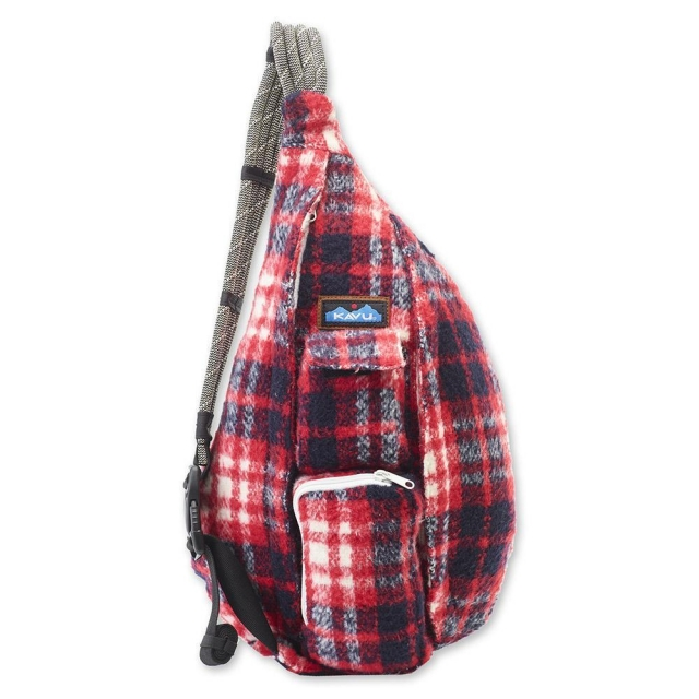 KAVU - Plaid Rope Bag