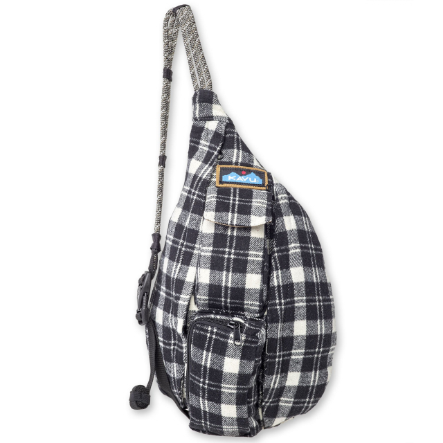 KAVU - Mini Plaid Rope Bag in Chelan WA