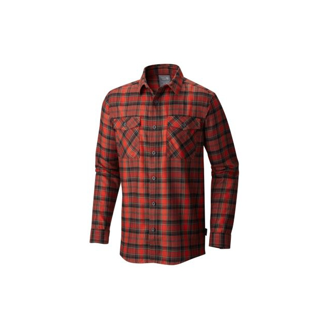 Mountain Hardwear - Trekkin Flannel Long Sleeve Shirt