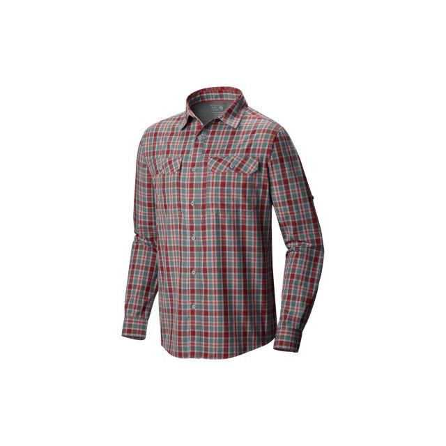 Mountain Hardwear - Men's Canyon Plaid Long Sleeve Shirt