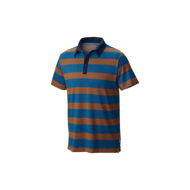 Mountain Hardwear - Men's ADL Striped Short Sleeve Polo
