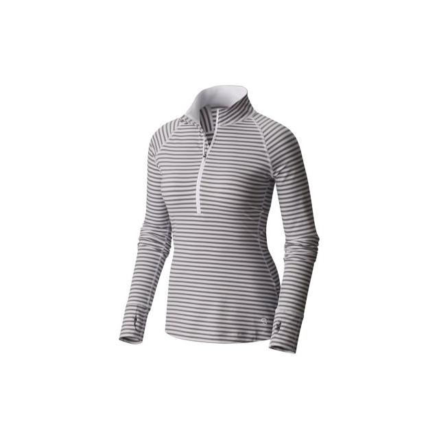 Mountain Hardwear - Women's Butterlicious Stripe Long Sleeve 1/2 Zi