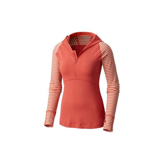 Mountain Hardwear - Women's Butterlicious Stripe Hoody