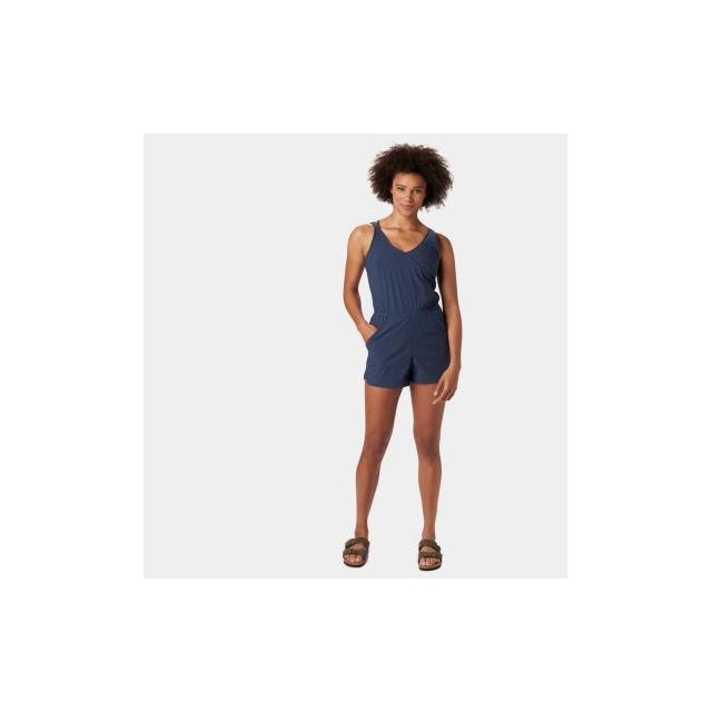 Mountain Hardwear - Women's Railay Romper Short in Golden Co