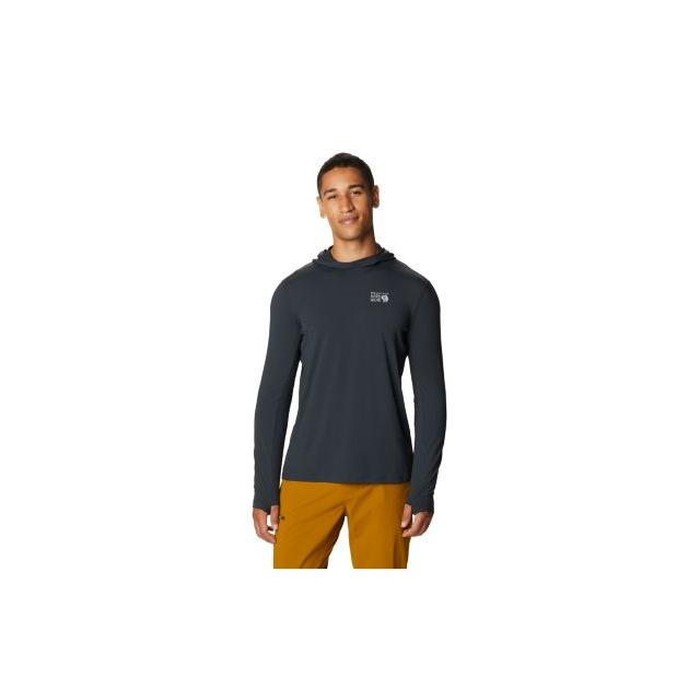Mountain Hardwear - Men's Crater Lake Long Sleeve Hoody in Golden CO