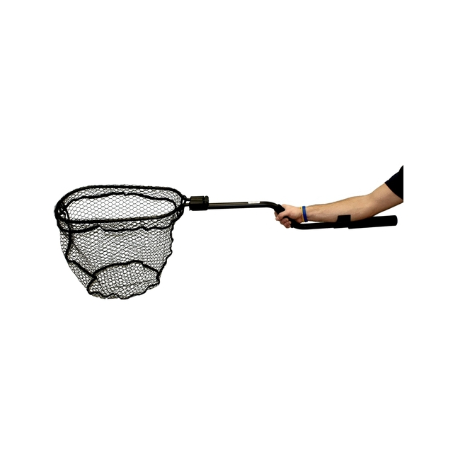 Leverage Landing Net, 12″ X 20″ hoop, 47″ long, with extension and foam for storing in rod holder