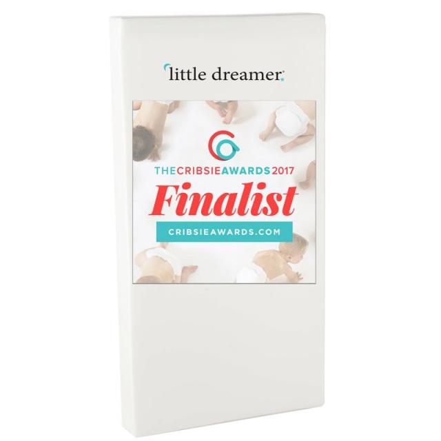 Moonlight Slumber Little Dreamer Dual Firmness All Foam Crib Mattress Moonlight Slumber / Little Dreamer All Foam Crib Mattress ...
