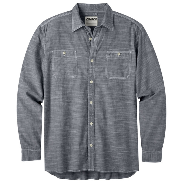 Mountain Khakis - Men's Mountain Chambray Long Sleeve Shirt