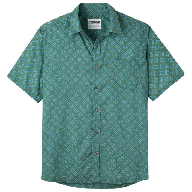 Mountain Khakis - Men's Fish Hatch Signature Print Shirt