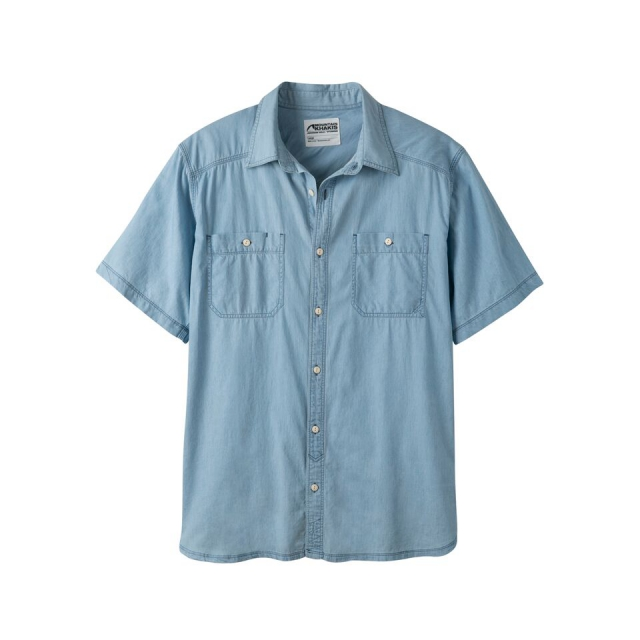 Mountain Khakis - Men's Ace Indigo Short Sleeve Shirt