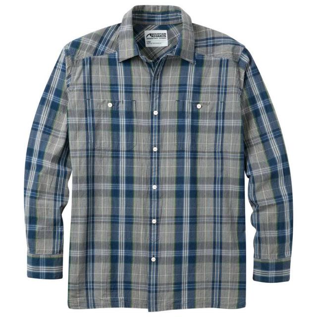 Mountain Khakis - Men's Ace Indigo Long Sleeve Shirt