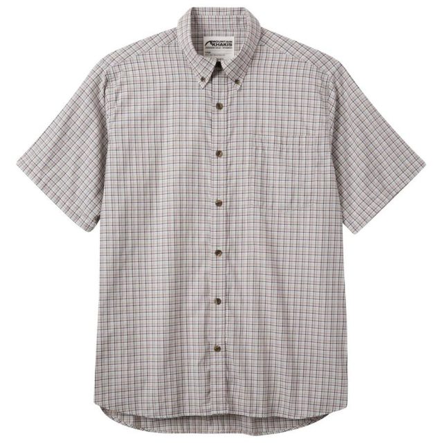 Mountain Khakis - Men's Spalding Gingham Short Sleeve Shirt