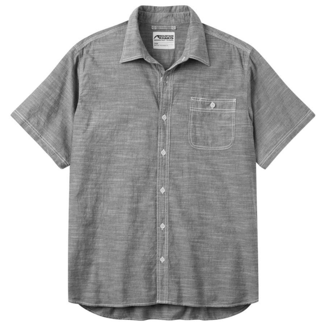 Mountain Khakis - Men's Mountain Chambray Short Sleeve Shirt