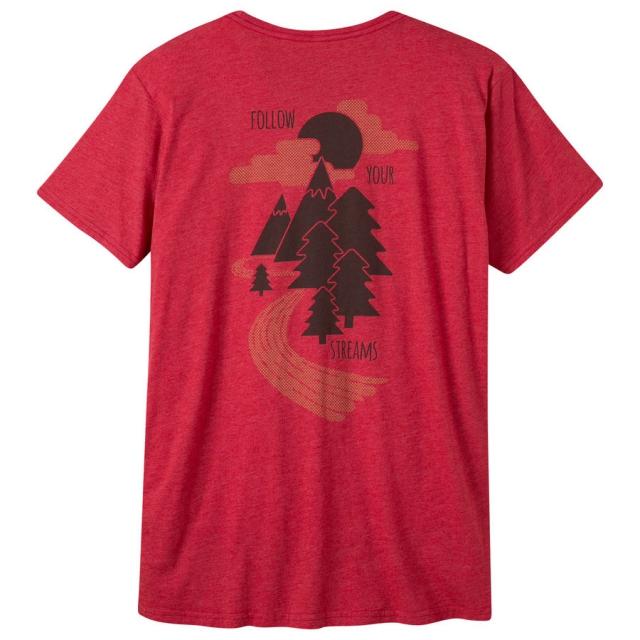 Mountain Khakis - Men's Follow Your Streams Short Sleeve T-Shirt