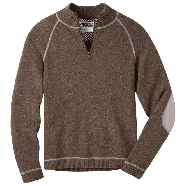 Mountain Khakis - Men's Fleck Qtr Zip Sweater