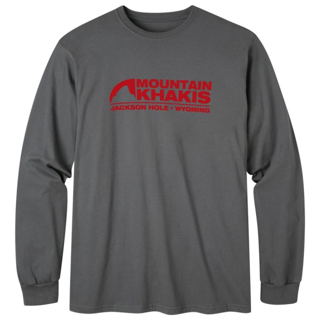 Mountain Khakis - Men's Logo Long Sleeve T-Shirt