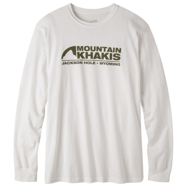 Mountain Khakis - Logo Long Sleeve T-Shirt
