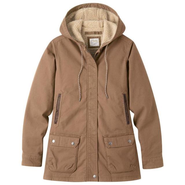 Mountain Khakis - Women's Ranch Shearling Hooded Coat