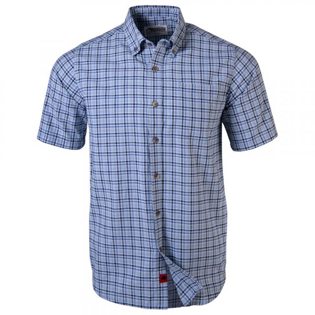 Men's Spalding Gingham Short Sleeve Shirt