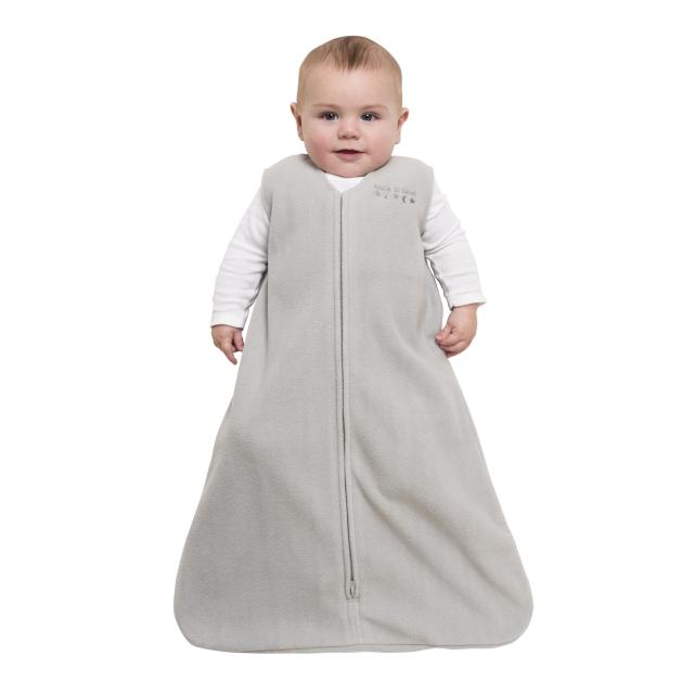 Micro Fleece Newborn HALO SleepSack Swaddle Charcoal Stars