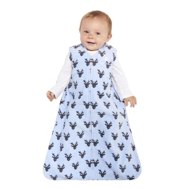 b03d48aaf Halo / SleepSack Wearable Blanket Micro-Fleece Blue Oh Deer X-Large