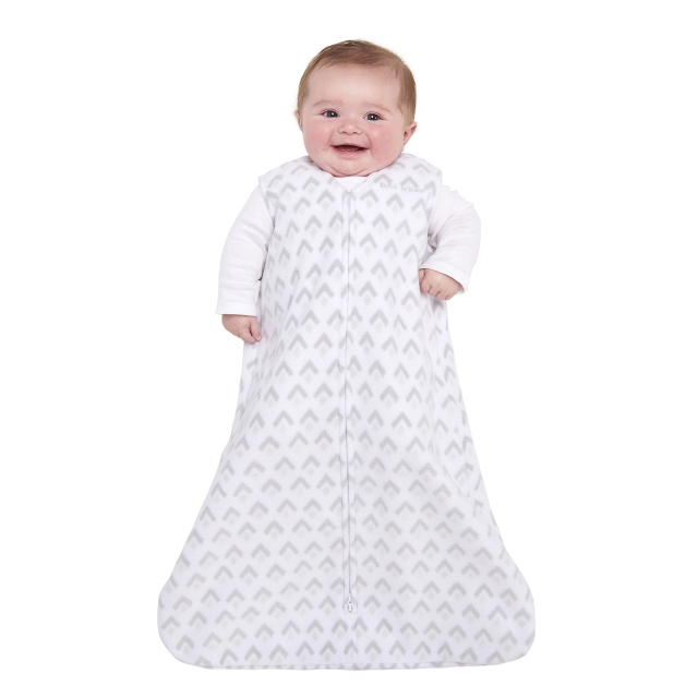 on sale 2df29 ccdf4 Halo / SleepSack Wearable Blanket Micro-Fleece Gray Aztec Large