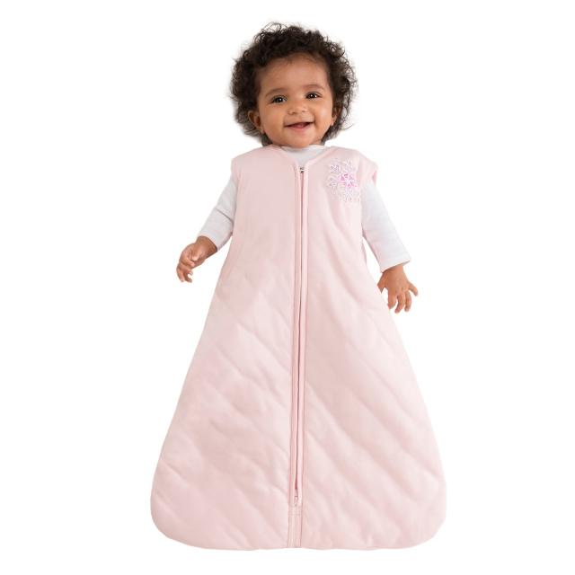 new product 4387e edf56 Halo / SleepSack Winter Weight Pink Snowflake Large