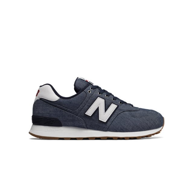 timeless design 96e90 54a39 New Balance / 574 Beach Chambray Men's 574 Shoes