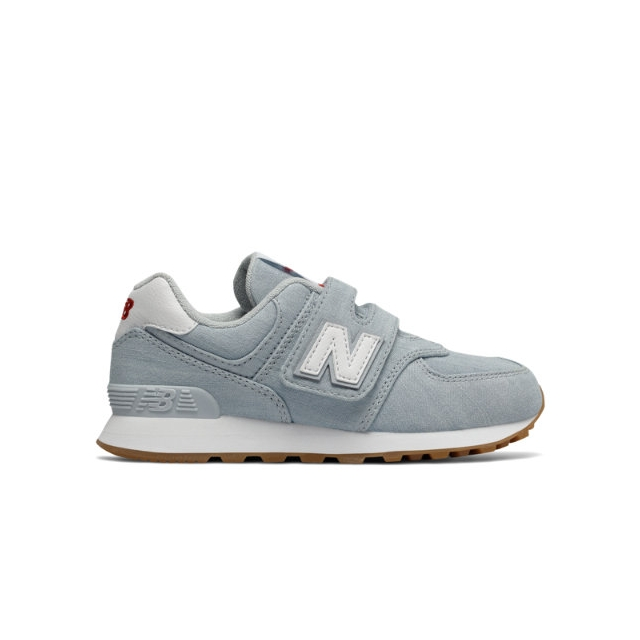 new balance 574 beach chambray