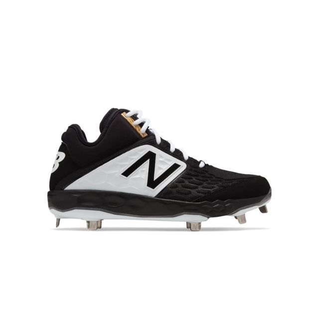 8f4833ee1 New Balance - Fresh Foam Mid-Cut 3000v4 Metal Men s Cleats and Turf Shoes