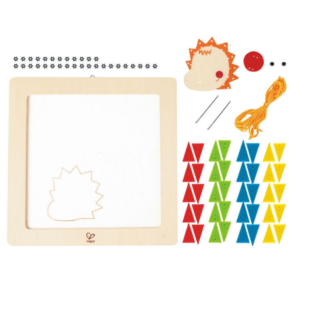 Hape - Happy Hedgehog Embroidery Kit