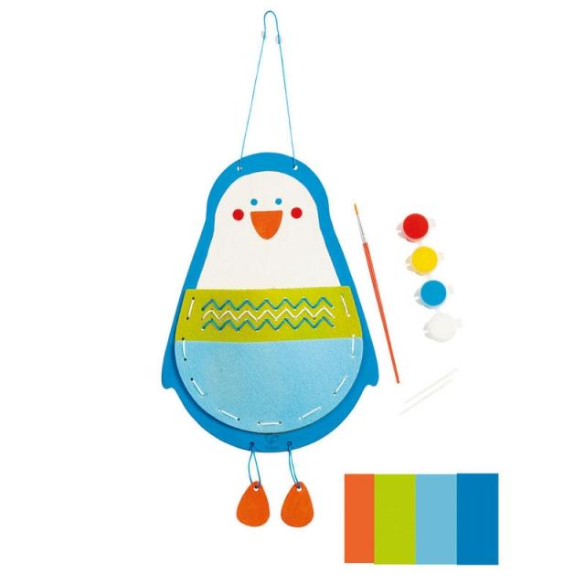 Hape - Penguin Pouch