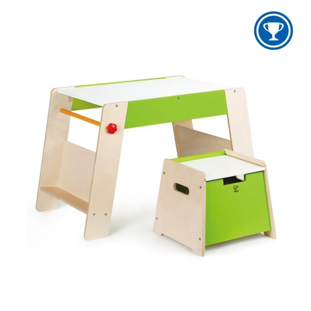 Hape - Play Station & Stool Set