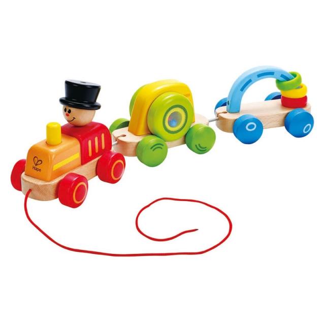 Hape - Triple Play Train