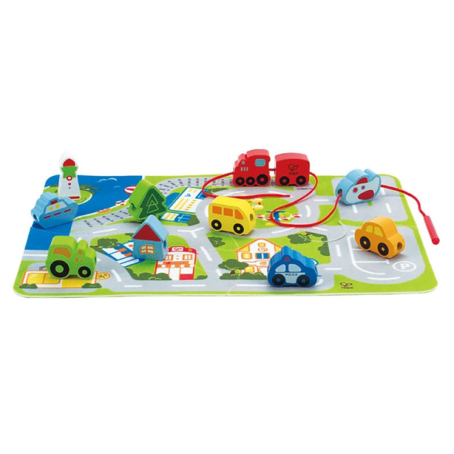 Hape - Busy City Play Set
