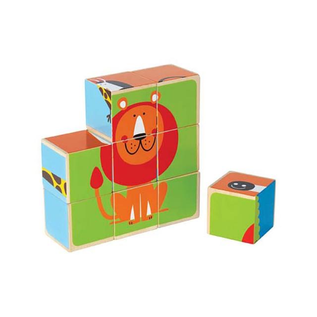 Hape - Zoo Animals Block Puzzle