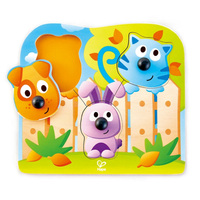 Hape - Big Nose Wild Puzzle