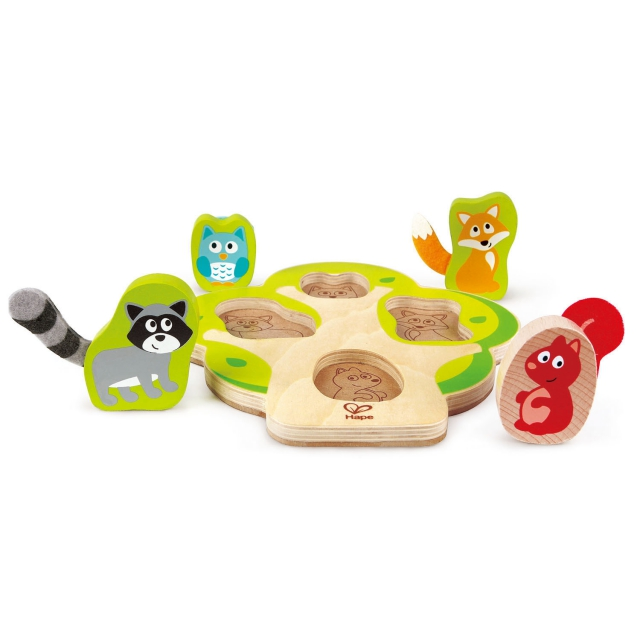 Hape - Who's In The Tree Puzzle