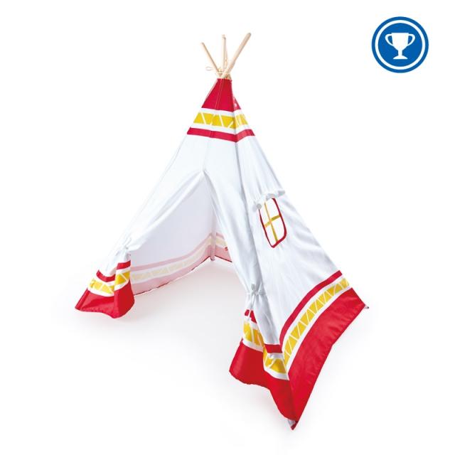 Hape - Teepee Tent,Red