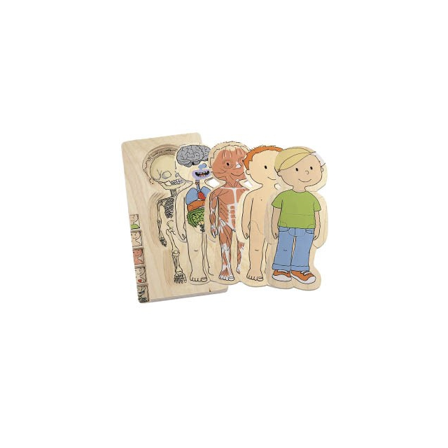 Hape - Layer Puzzle Your Body boy